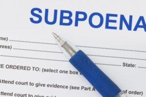 What Does It Mean If You are Subpoenaed? - Plantation